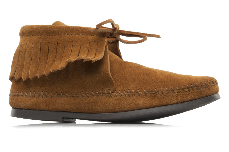 Stiefeletten & Boots Minnetonka CLASSIC FRINGE braun ansicht von hinten