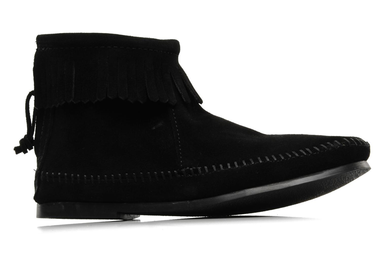 Stiefeletten & Boots Minnetonka BACK ZIPPER BT schwarz ansicht von hinten