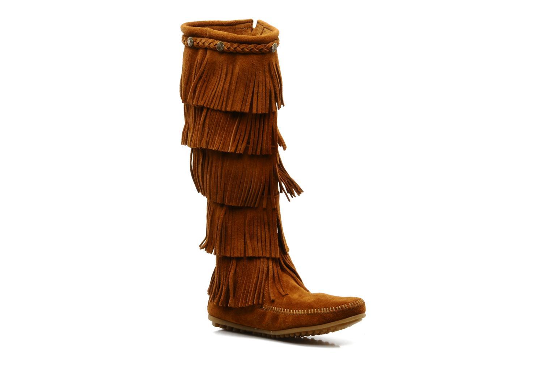 Grandes descuentos últimos zapatos Minnetonka 5 LAYER FRINGE BT (Marrón) - Botas Descuento