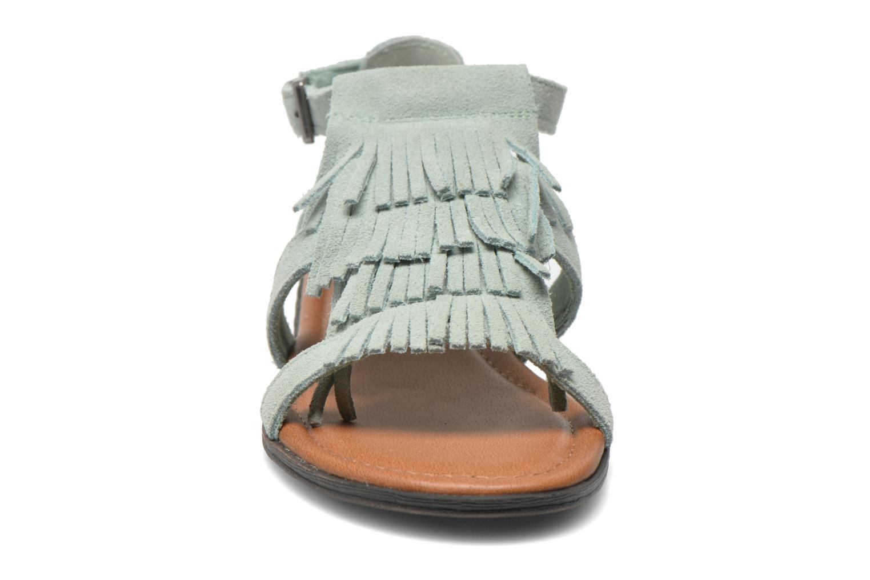 Sandalen Minnetonka Maui grün schuhe getragen