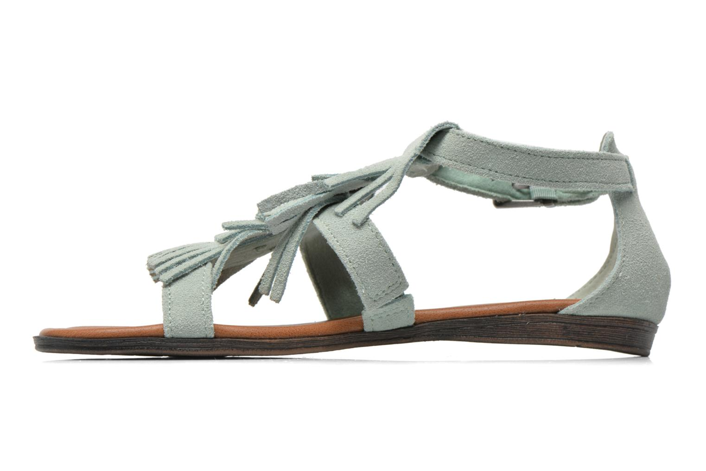 Sandalen Minnetonka Maui grün ansicht von vorne