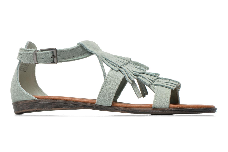Sandalen Minnetonka Maui grün ansicht von hinten