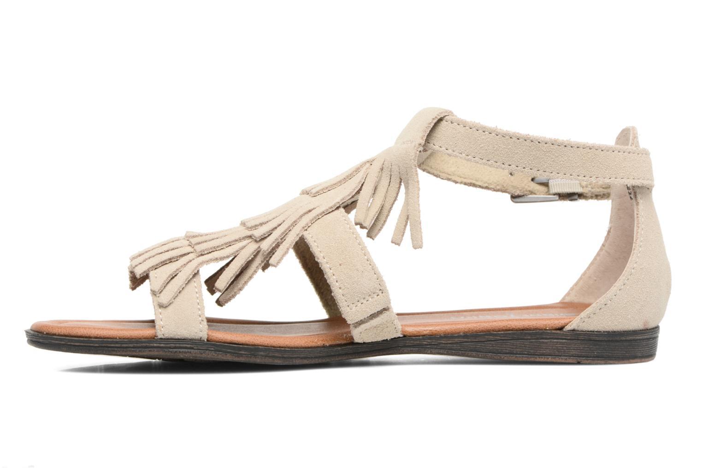 Sandali e scarpe aperte Minnetonka Maui Beige immagine frontale