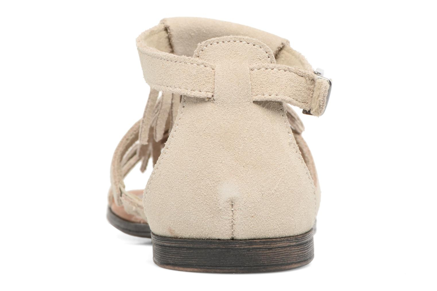 Sandals Minnetonka Maui Beige view from the right