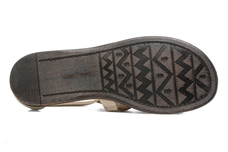 Sandali e scarpe aperte Minnetonka Maui Beige immagine dall'alto