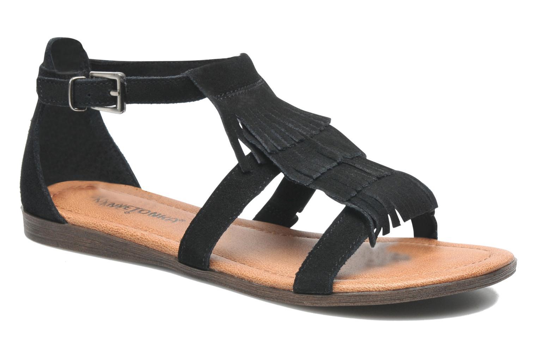 Sandalen Minnetonka Maui Zwart detail