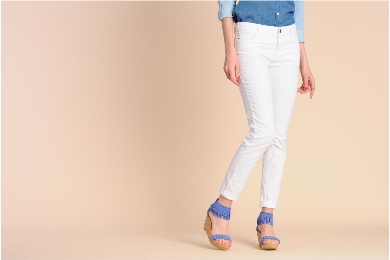 Sandaler Minnetonka Nicki Röd bild från under
