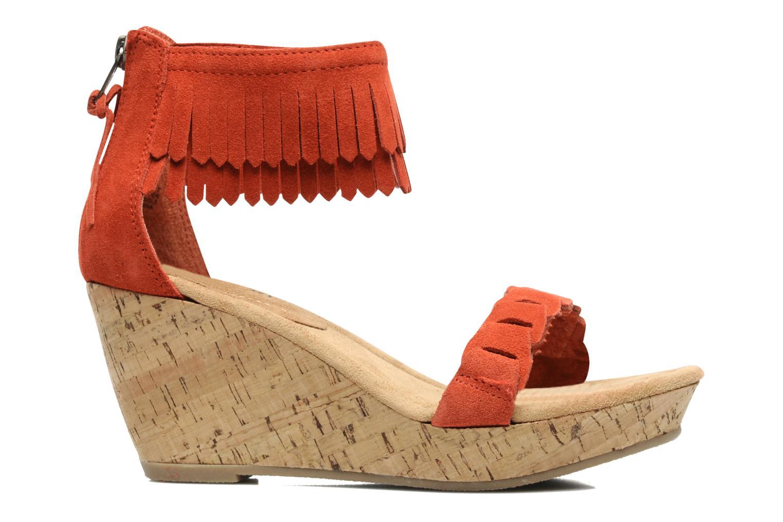 Sandaler Minnetonka Nicki Röd bild från baksidan