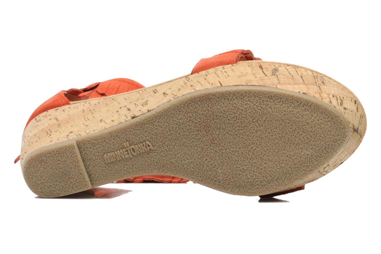 Sandaler Minnetonka Nicki Röd bild från ovan