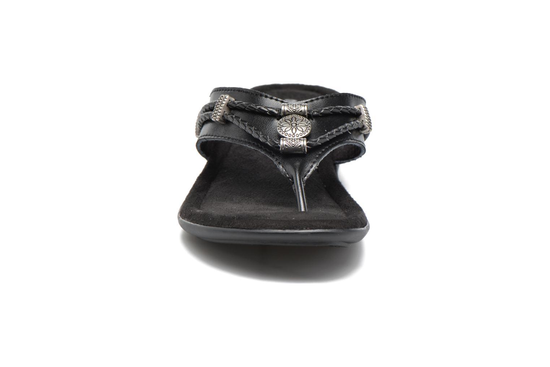 SILVERTHORNE Black leather