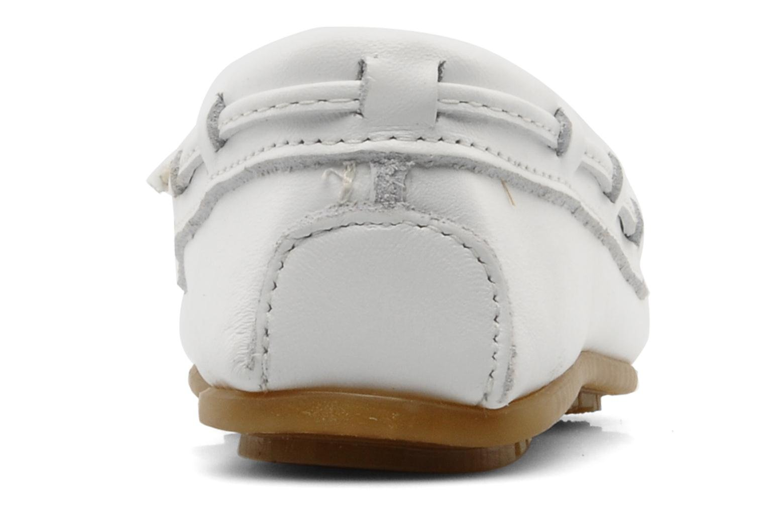 Mocassins Minnetonka KILTY BEADED Blanc vue droite