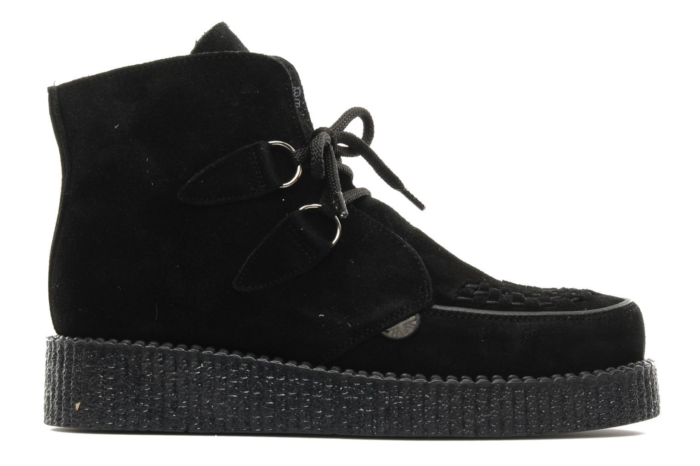Boots en enkellaarsjes Underground Wulfrun High M Zwart achterkant