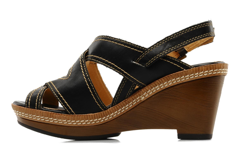 Sandales et nu-pieds Pikolinos Gomera 8247 Noir vue face
