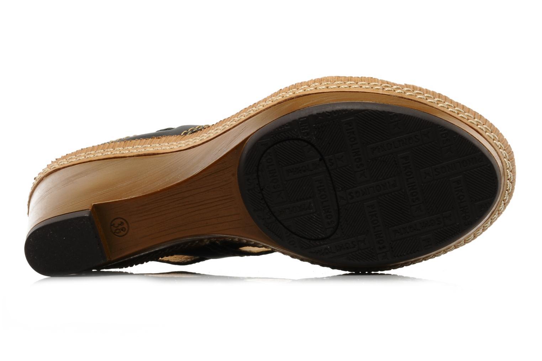 Sandales et nu-pieds Pikolinos Gomera 8247 Noir vue haut