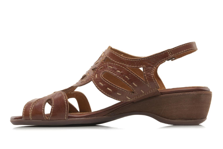 Sandales et nu-pieds Pikolinos Thailandia 7589 Marron vue face