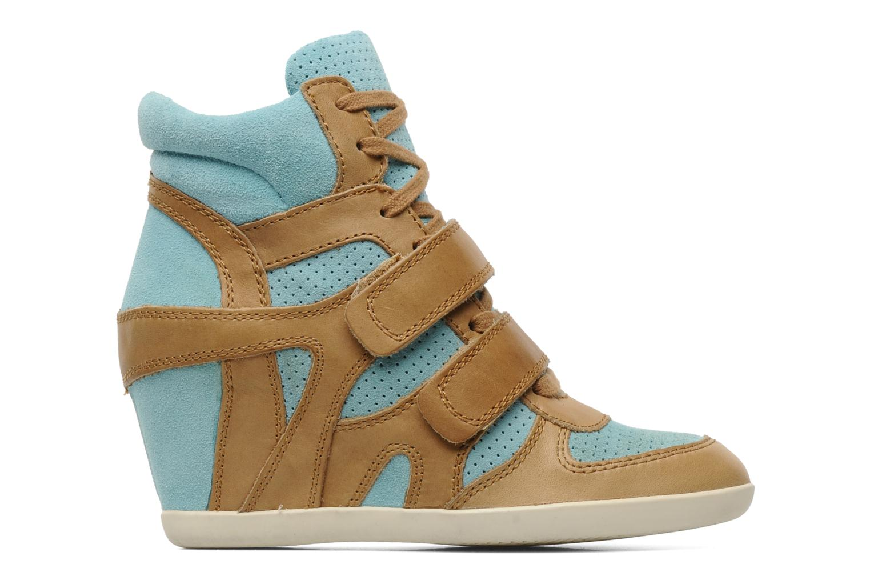Sneaker Ash Bea beige ansicht von hinten