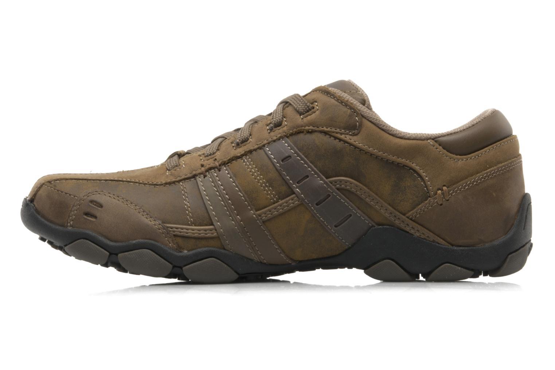 Sneaker Skechers Vassell 62607 braun ansicht von vorne