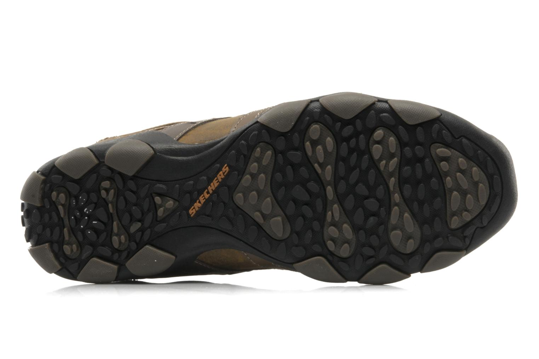 Sneaker Skechers Vassell 62607 braun ansicht von oben