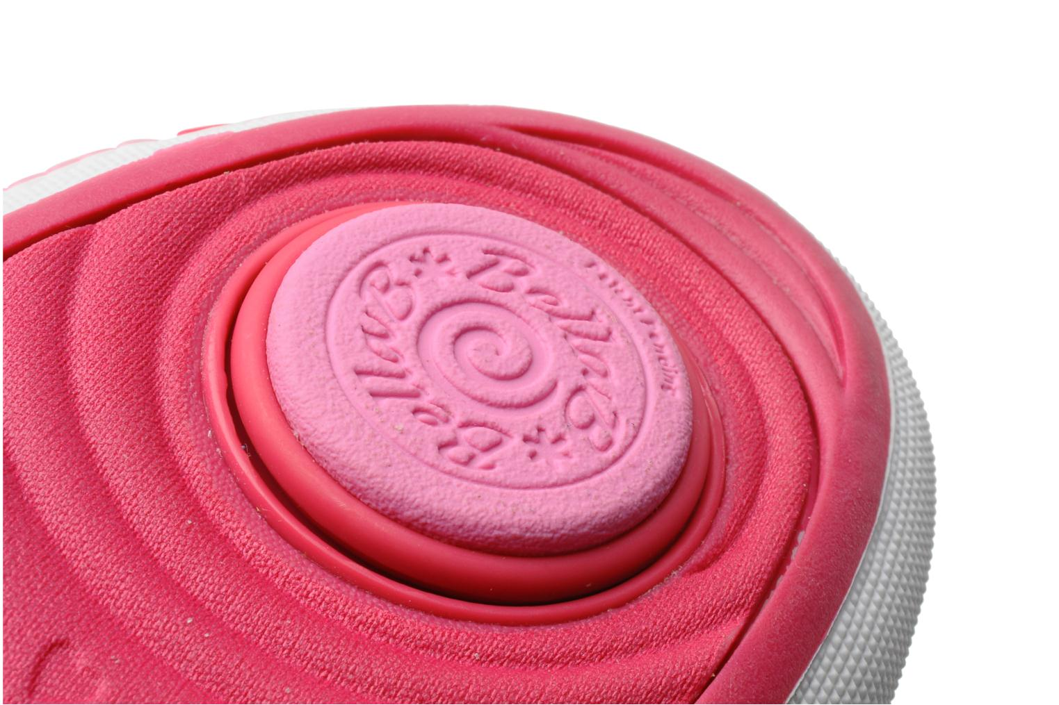 Trainers Skechers Curtsies Pink 3/4 view