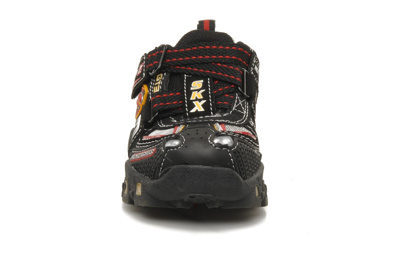 Sneaker Skechers Turbo-s schwarz schuhe getragen