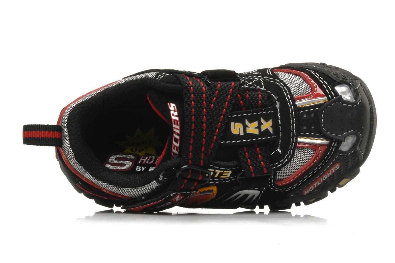 Sneaker Skechers Turbo-s schwarz ansicht von links
