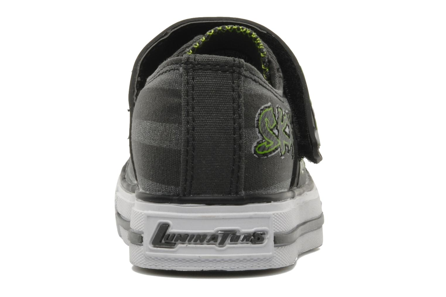 Trainers Skechers Roswell Grey view from the right