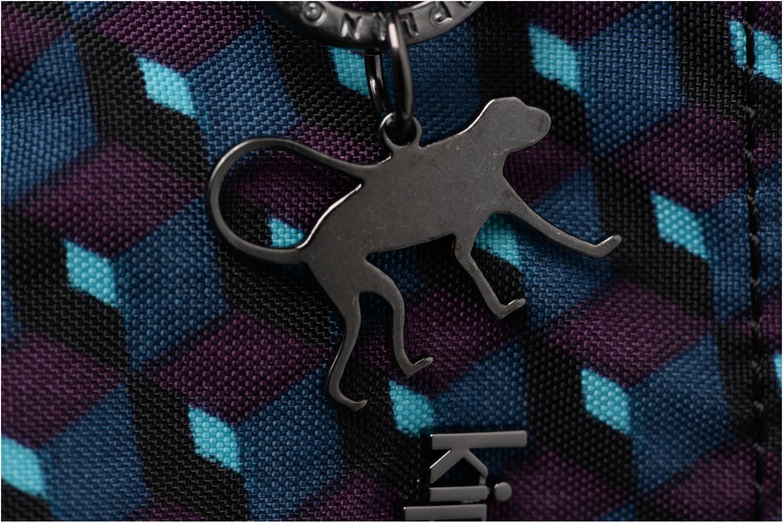 Marroquinería pequeña Kipling Creativity S Azul vista lateral izquierda