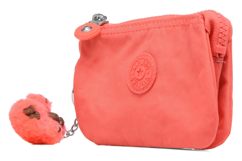 Petite Maroquinerie kipling Creativity S Orange vue portées chaussures