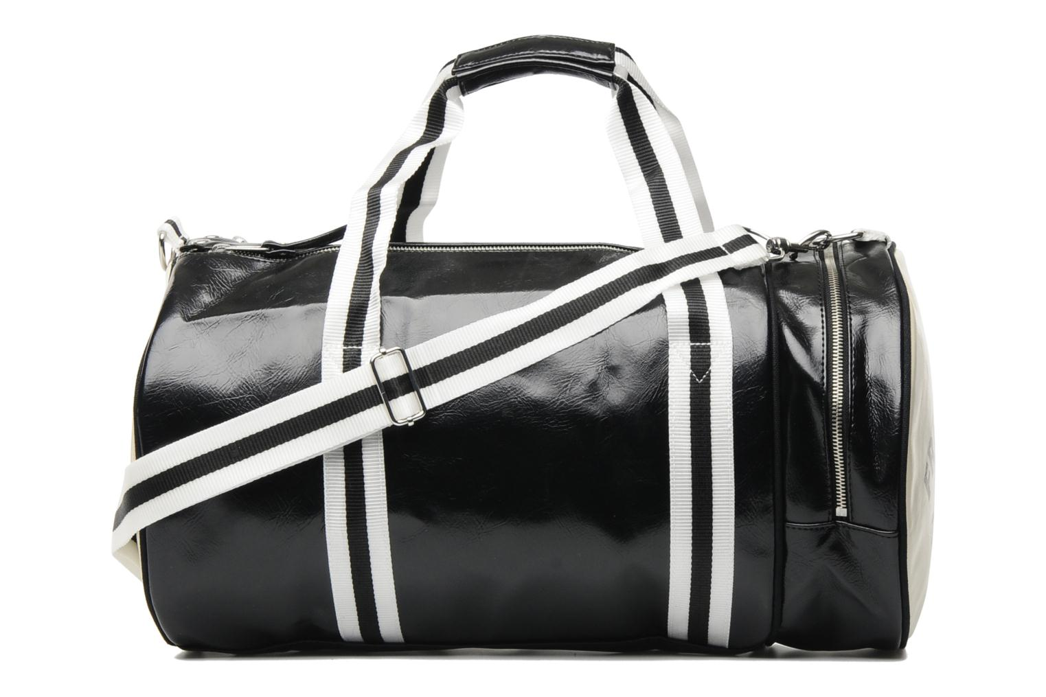Sacs de sport Fred Perry Classic Barrel Bag Noir vue face