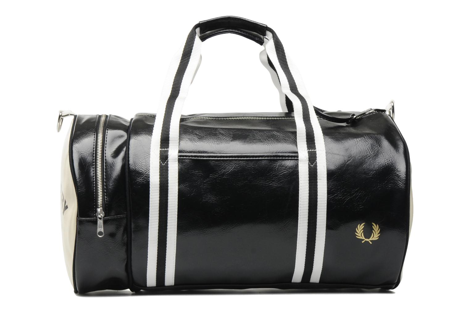 Classic barrel bag Black-Ecru 230