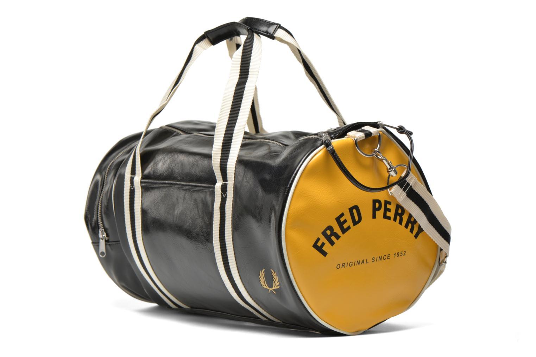 Sporttassen Fred Perry Classic Barrel Bag Zwart model