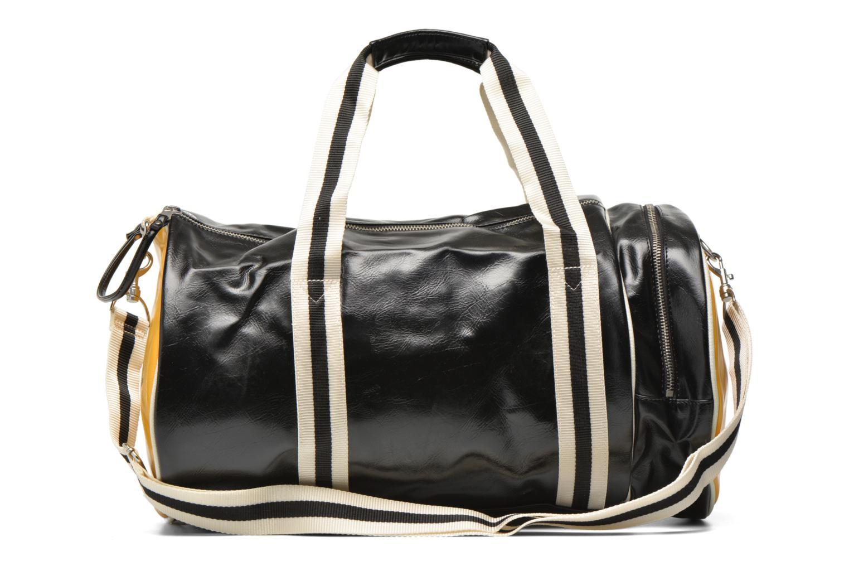 Sporttaschen Fred Perry Classic Barrel Bag schwarz ansicht von vorne