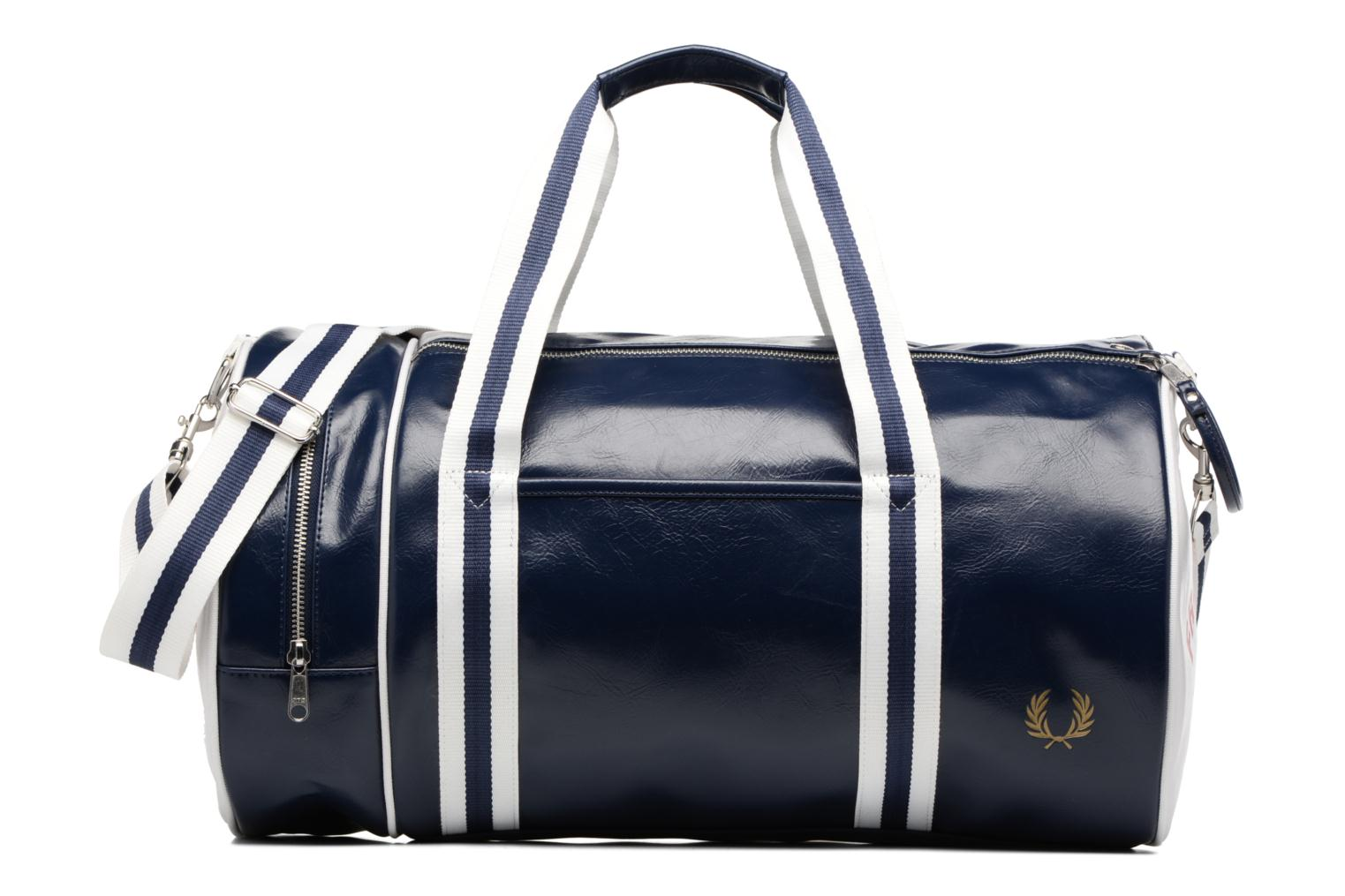 Classic barrel bag Navy/white/red