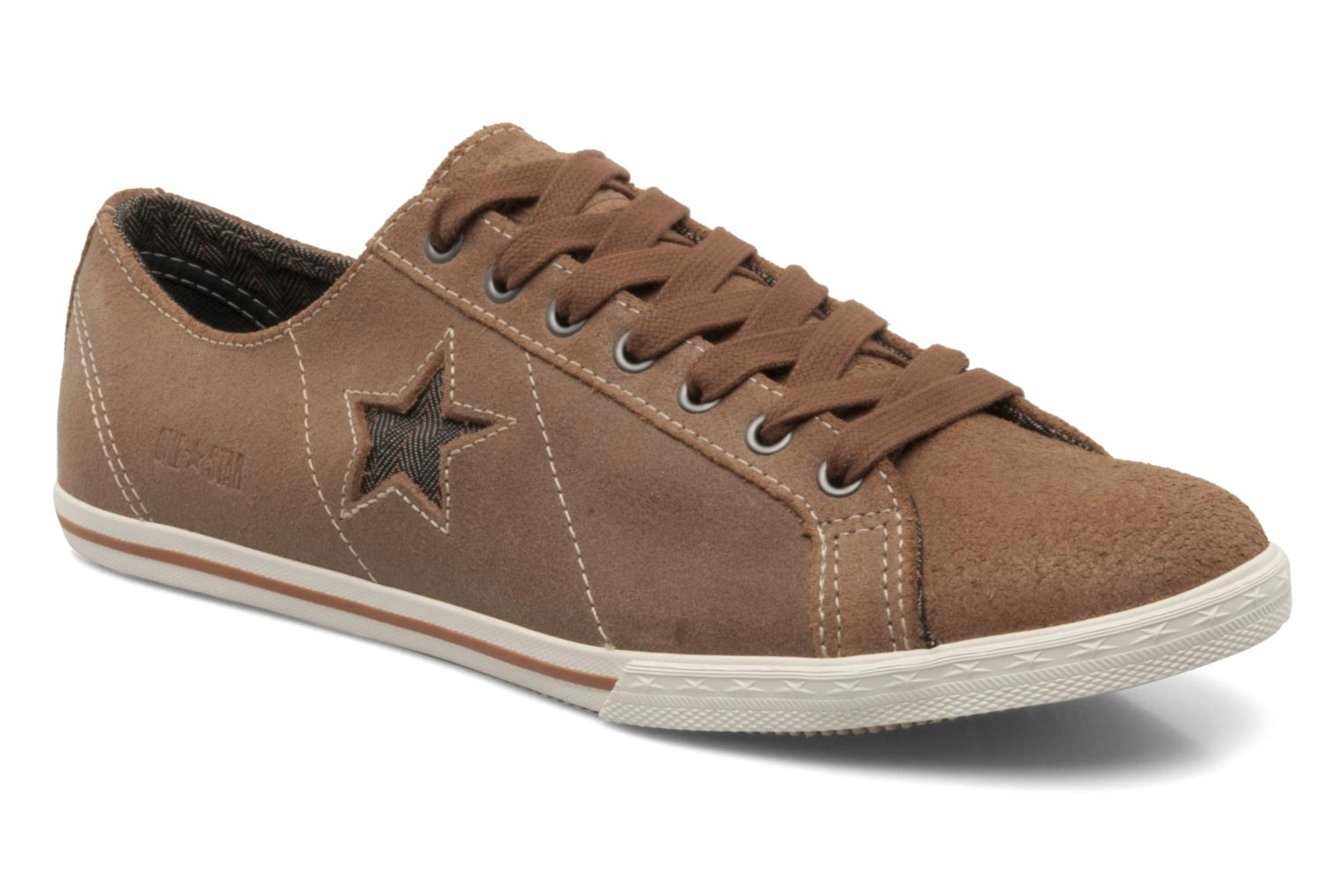 Converse One star low profile suede ox m (Brown) Trainers