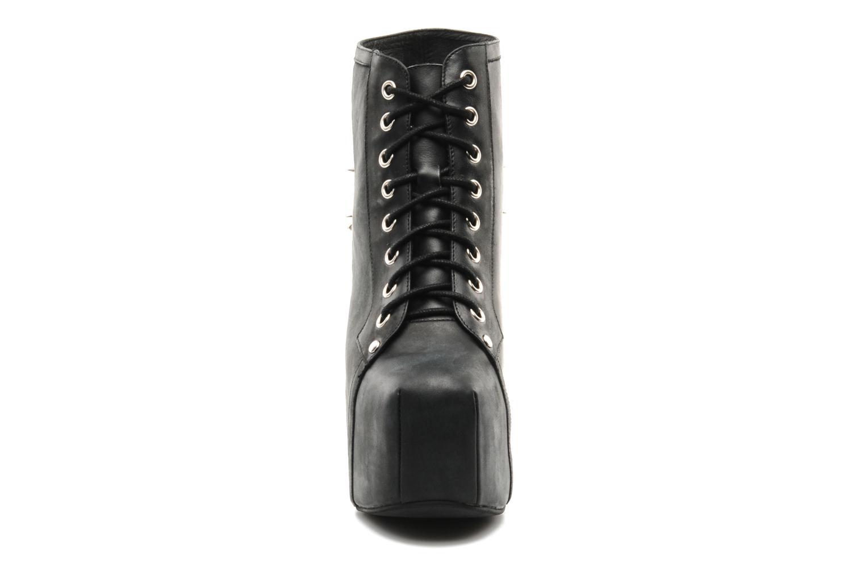 Bottines et boots Jeffrey Campbell SPIKE Noir vue portées chaussures