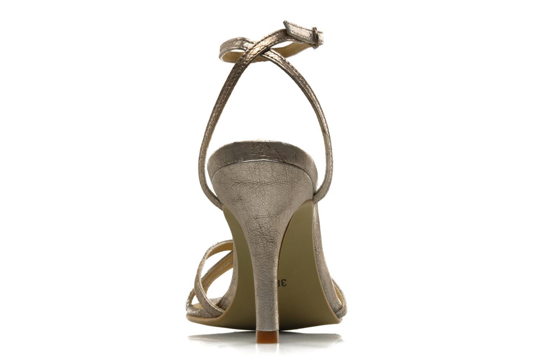 Sandales et nu-pieds Georgia Rose Tomina Argent vue droite