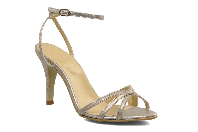 Sandales et nu-pieds Georgia Rose Tomina Argent vue détail/paire