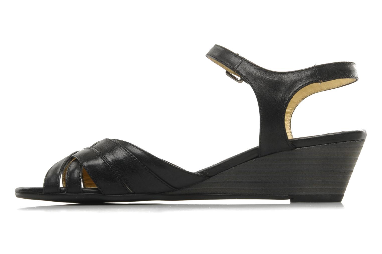 Sandalen Georgia Rose Turaco schwarz ansicht von vorne
