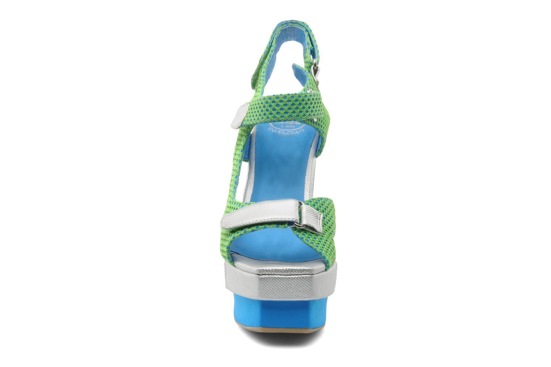 Sandalen Jeffrey Campbell FONDA grün schuhe getragen