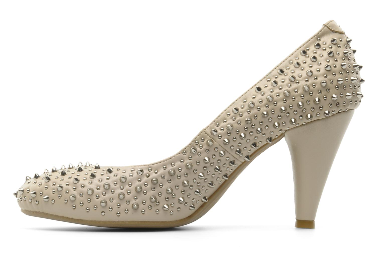 Zapatos de tacón Jeffrey Campbell LANE SPIKE Beige vista de frente