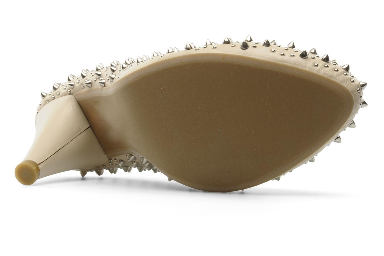 Zapatos de tacón Jeffrey Campbell LANE SPIKE Beige vista de arriba