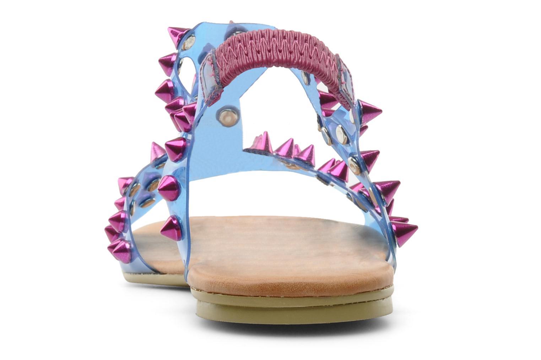 Sandales et nu-pieds Jeffrey Campbell PUFFER Bleu vue droite