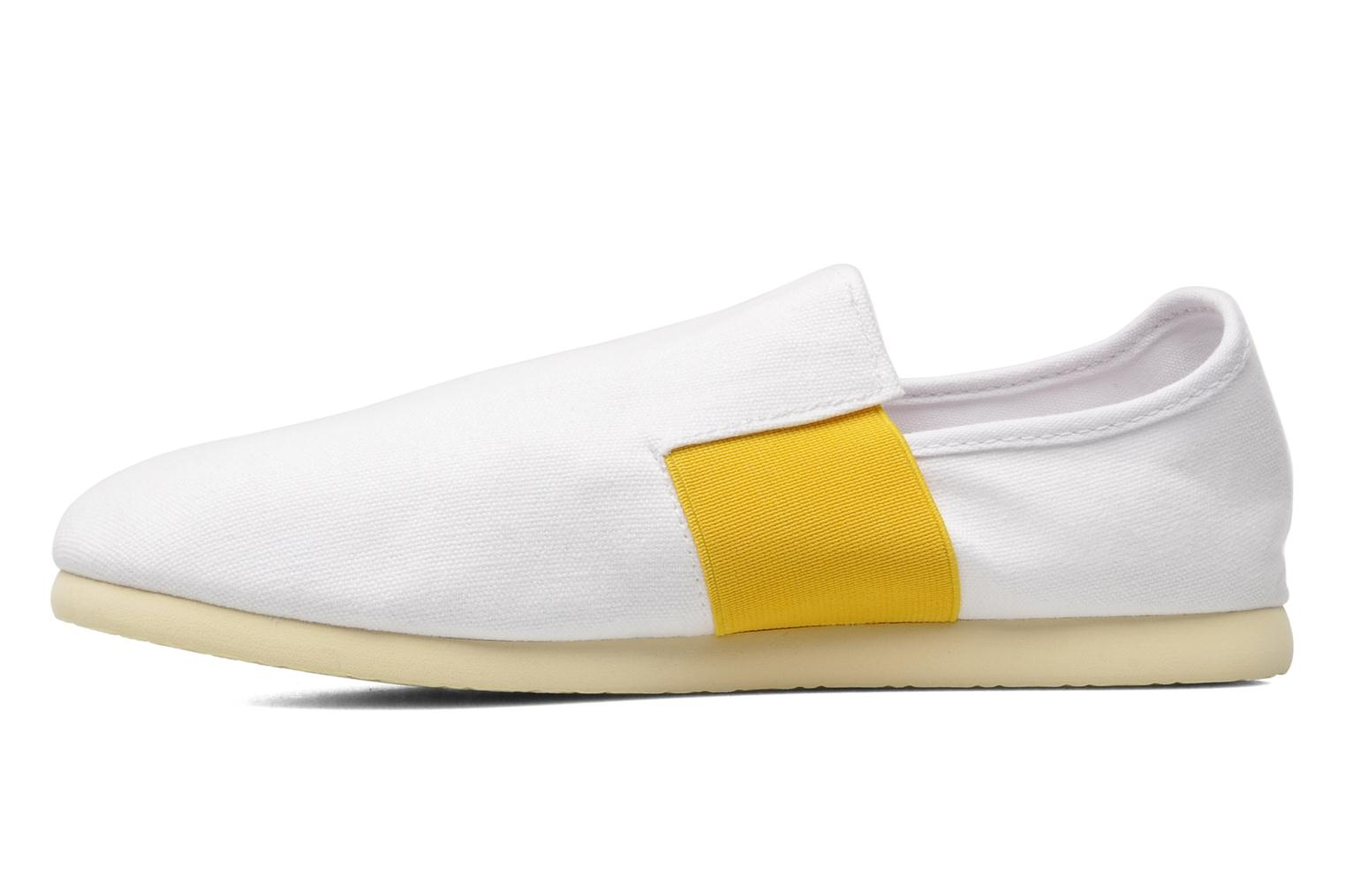 ENZZO WHITE YELLOW CANVAS