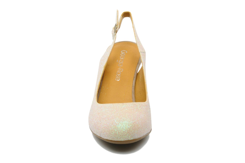 High heels Georgia Rose Ziggy Bronze and Gold model view
