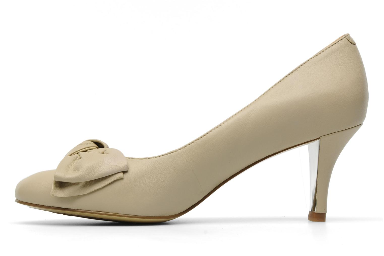 Zapatos de tacón Naturalizer Stev Beige vista de frente