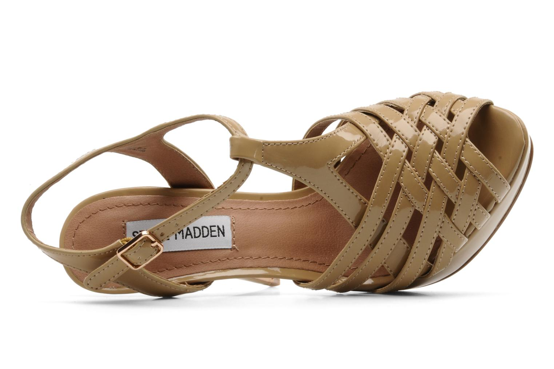 Sandales et nu-pieds Steve Madden HALLELU Beige vue gauche