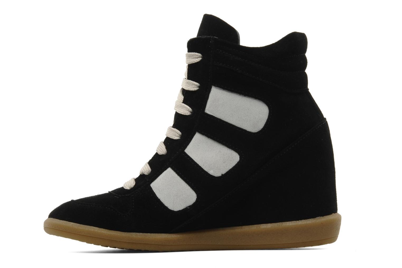 Sneaker Jonak Douveti schwarz ansicht von vorne
