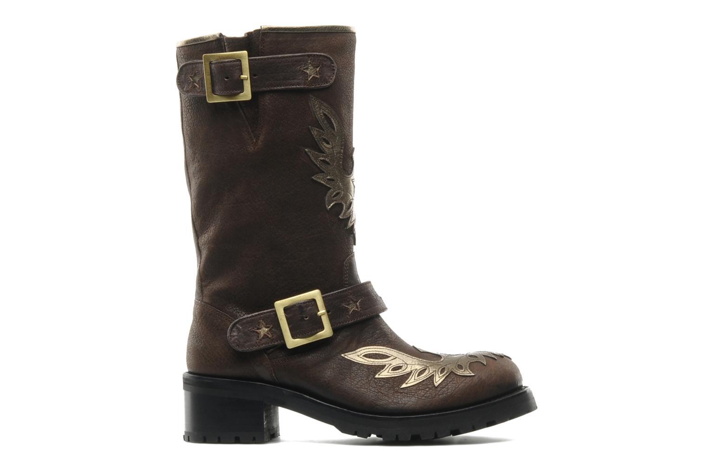 Bottines et boots Georgia Rose Perjane Marron vue derrière