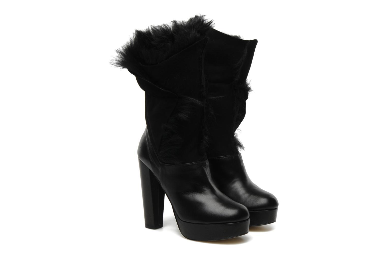 Bottines et boots Terry de Havilland KATYA Noir vue 3/4