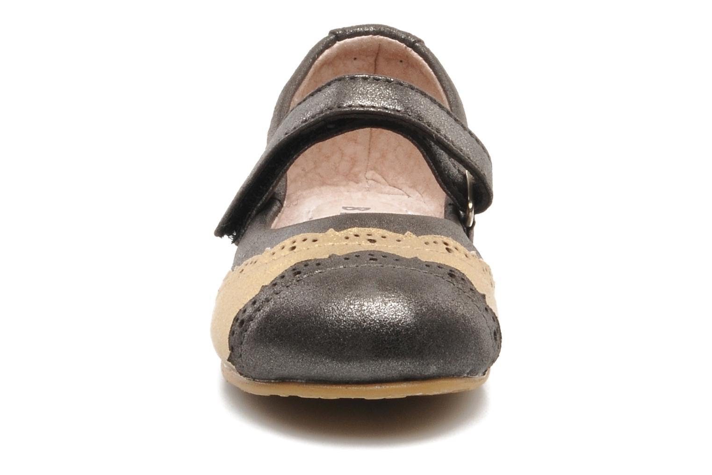 Ballerines Bloch toddler felicity Gris vue portées chaussures